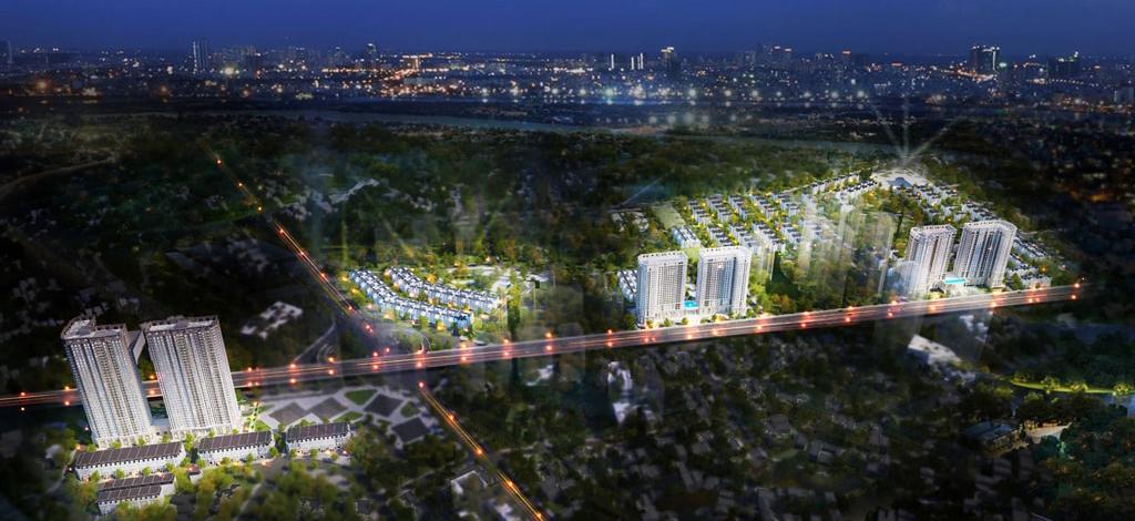 đầu tư vào dự án Tây Nam Kim Giang